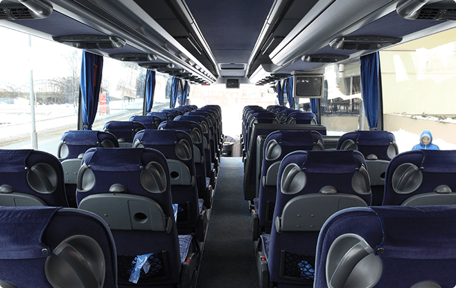 Warsaw Limo Service - Buses - Mercedes Benz Travego